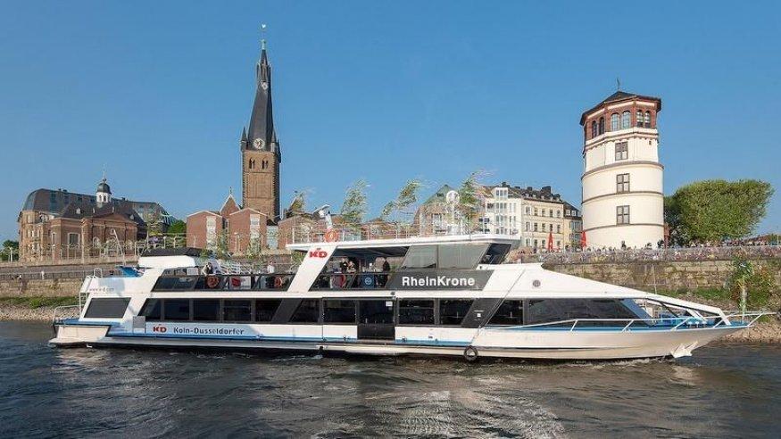 Panorama-Schiffstour Düsseldorf - Ausflug in die Landeshauptstadt