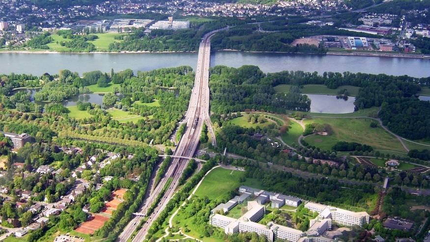 Wanderung am Bonner Rheinufer und durch die Rheinaue
