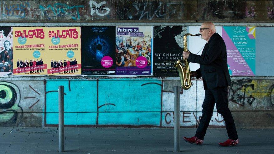 Bernd Delbrügge Band in der Lutherkirche in der Südstadt